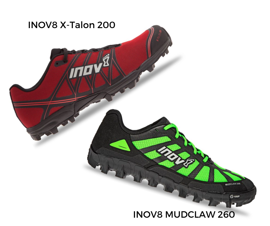 Invo8 Trail running shoes suitable for Canicross in winter